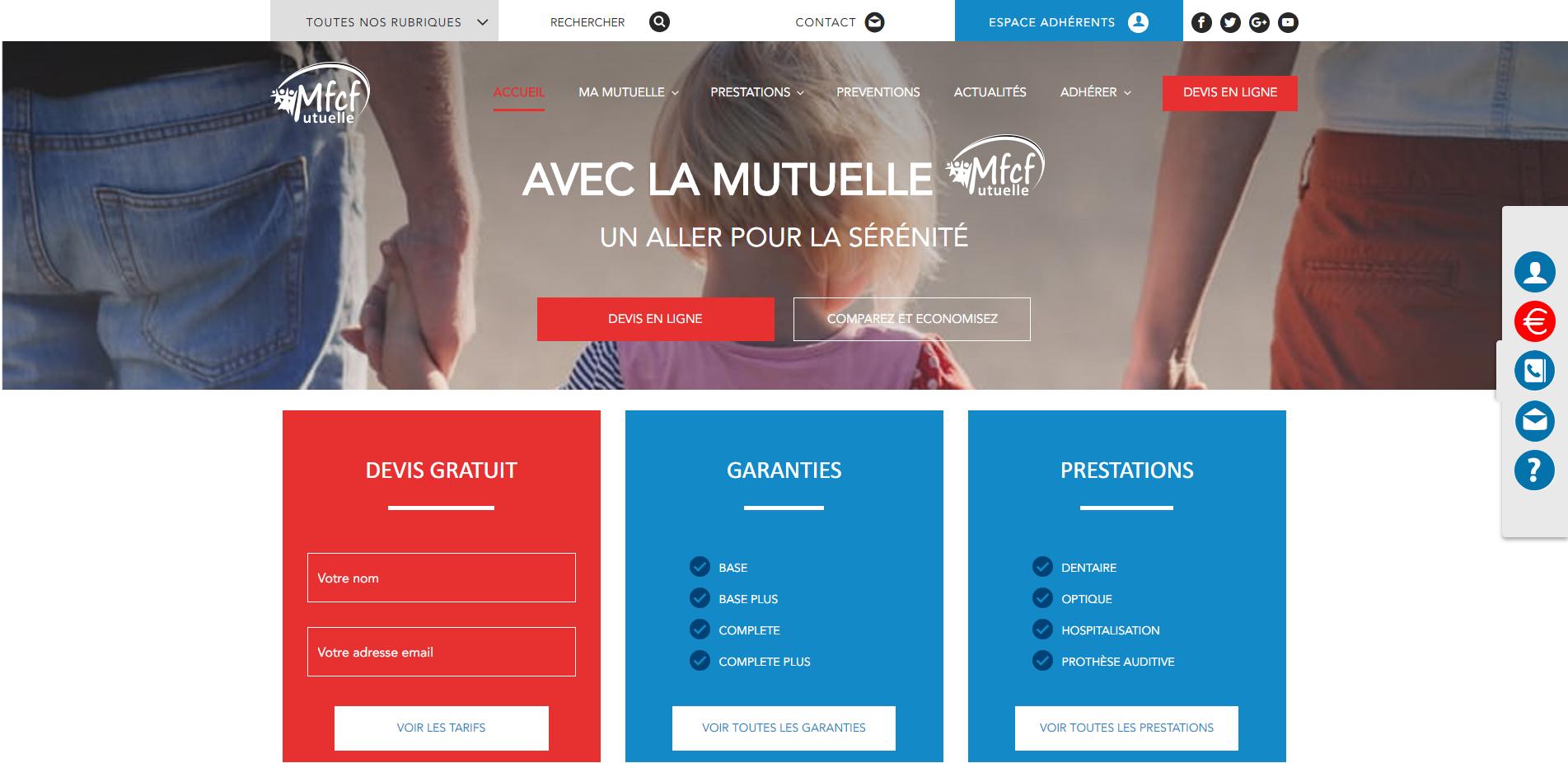 Nouveau site internet de la MFCF !