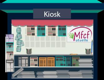 La MFCF lance : le KIOSK