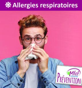 Allergies respiratoires : prévention et traitements